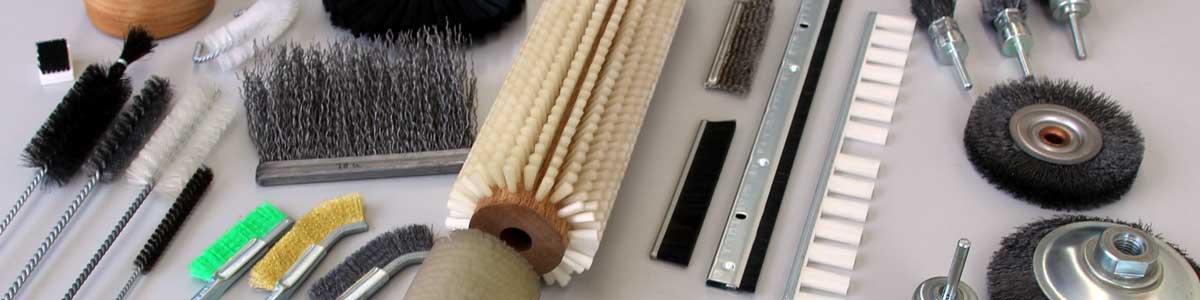 工業用ブラシの製造・販売。加藤ブラシ工業