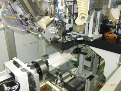 植込ブラシ用自動植毛機Borghi社「エコテック」導入