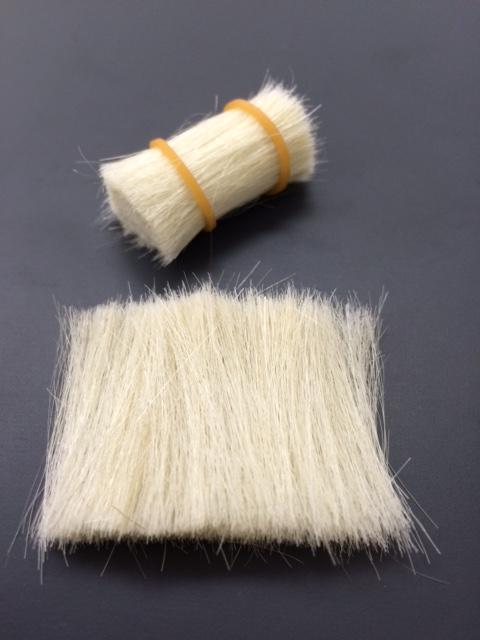 ブラシ素材山羊毛