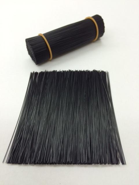 ブラシ素材塩化ビニールブラック