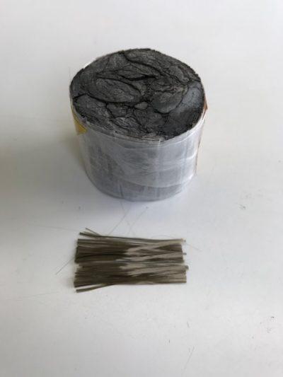 火山岩を使ったブラシ素材